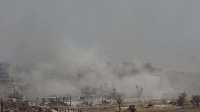 Vệ binh Syria đè bẹp phiến quân, chiếm một số địa bàn ở Damascus ảnh 12