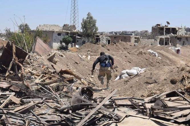 Vệ binh Syria đè bẹp phiến quân, chiếm một số địa bàn ở Damascus ảnh 14
