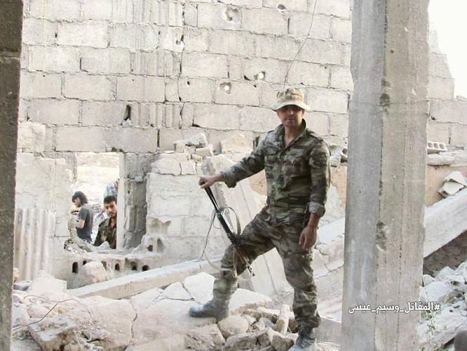 Vệ binh Syria tiến sâu vào sào huyệt phiến quân đông Damascus ảnh 4