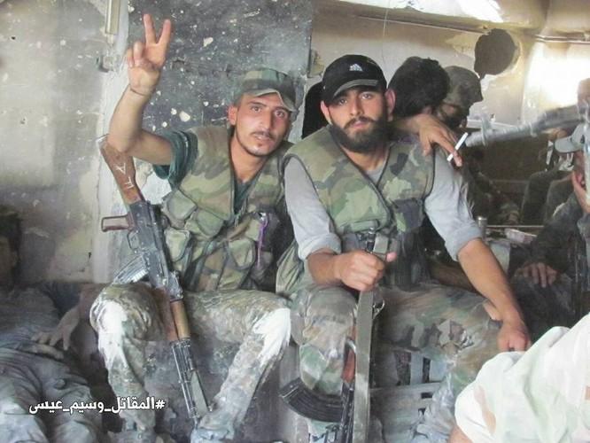 Vệ binh Syria tiến sâu vào sào huyệt phiến quân đông Damascus ảnh 6
