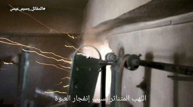Quân đội Syria chọc thủng tuyến phòng ngự phiến quân ngoại vi Damascus ảnh 9