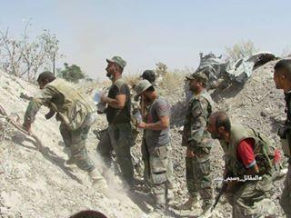 Quân đội Syria chọc thủng tuyến phòng ngự phiến quân ngoại vi Damascus ảnh 20