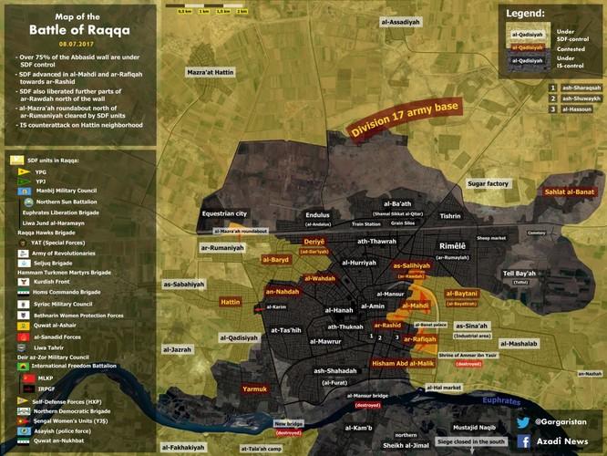 Chiến sự Syria: Người Kurd chiếm thành cổ Raqqa, IS sắp bị chia cắt (video) ảnh 1
