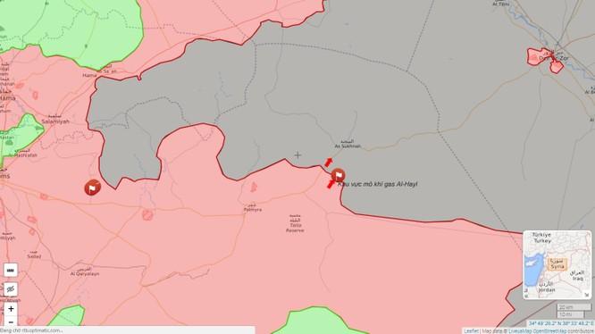 Không quân Nga trợ chiến, quân đội Syria dồn binh đột phá tuyến Homs-Deir Ezzor ảnh 1