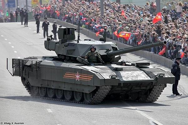 """Siêu tăng Nga """"chấp tất"""" tên lửa, đạn pháo ảnh 1"""