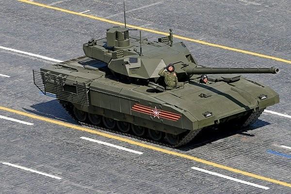 """Siêu tăng Nga """"chấp tất"""" tên lửa, đạn pháo ảnh 2"""