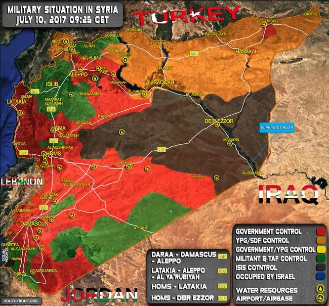 Trực thăng Nga càn quét, quân đội Syria chiếm địa bàn chiến lược ở Homs ảnh 1