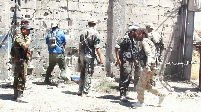 Chiến sự Syria: Vệ binh cộng hòa diệt hàng loạt phiến quân ở ngoại vi Damascus ảnh 3