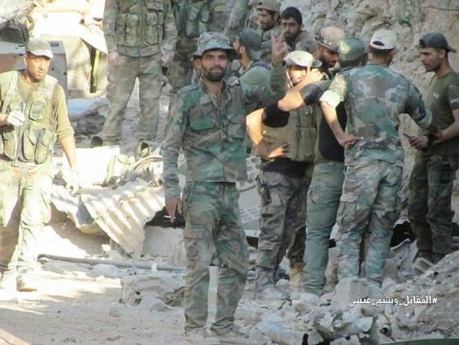 Chiến sự Syria: Vệ binh cộng hòa diệt hàng loạt phiến quân ở ngoại vi Damascus ảnh 12
