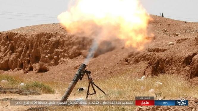 Quân đội Syria bất ngờ hứng thất bại trước IS tại Homs ảnh 4