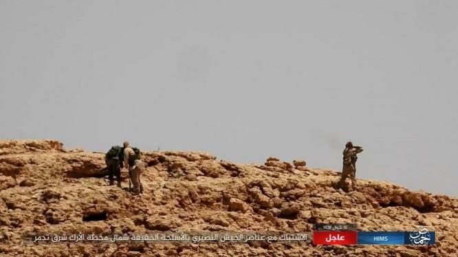Quân đội Syria bất ngờ hứng thất bại trước IS tại Homs ảnh 8