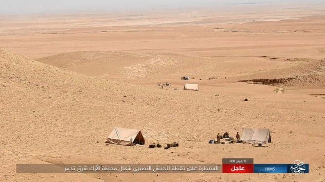 Quân đội Syria bất ngờ hứng thất bại trước IS tại Homs ảnh 12