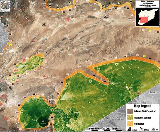 Quân đội Syria bất ngờ tung đòn tấn công phiến quân được Mỹ hậu thuẫn ảnh 1