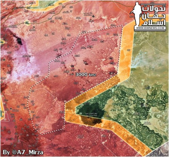 Quân đội Syria nghiền nát phiến quân, đánh chiếm 3.000 km2 ở Sweida (video) ảnh 1