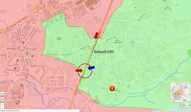 Quân đội Syria đối mặt phiến quân thiện chiến, cuồng tín (video) ảnh 1