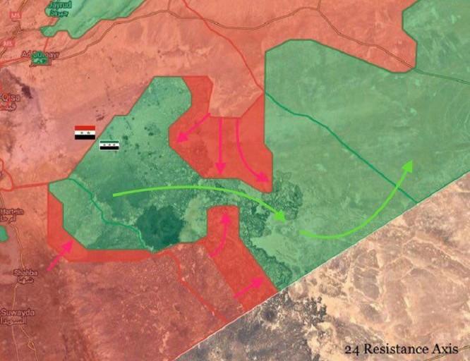 Quân đội Syria bao vây phe thánh chiến nam Damascus, chuẩn bị tiêu diệt ảnh 1