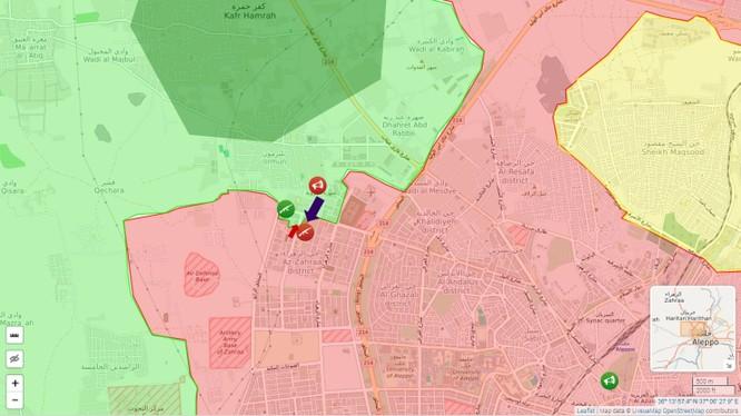Quân đội đánh bại phiến quân Hồi giáo tấn công Aleppo ảnh 1