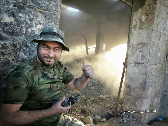 Quân đội Syria tấn công dữ dội cứ địa thánh chiến ngoại ô Damascus (video) ảnh 15