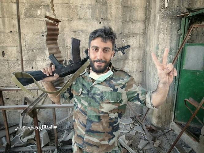Quân đội Syria tấn công dữ dội cứ địa thánh chiến ngoại ô Damascus (video) ảnh 21