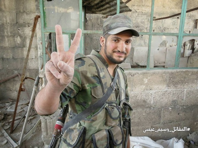 Quân đội Syria tấn công dữ dội cứ địa thánh chiến ngoại ô Damascus (video) ảnh 24