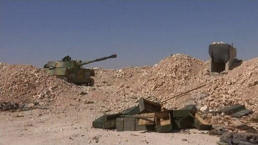 Pháo tự hành tung hoành trên chiến trường Syria ảnh 3