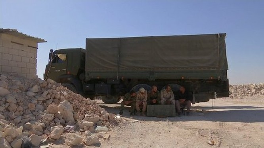 Pháo tự hành tung hoành trên chiến trường Syria ảnh 4