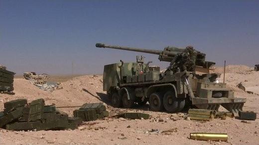 Pháo tự hành tung hoành trên chiến trường Syria ảnh 5