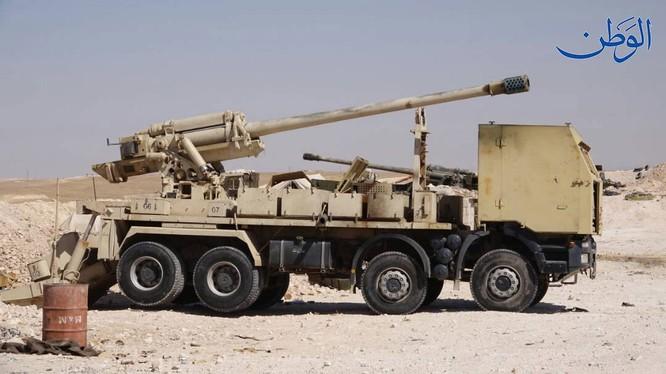 Pháo tự hành tung hoành trên chiến trường Syria ảnh 6