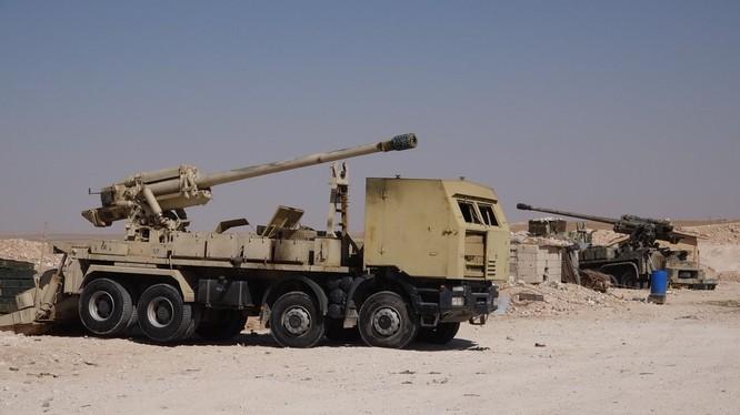 Pháo tự hành tung hoành trên chiến trường Syria ảnh 7