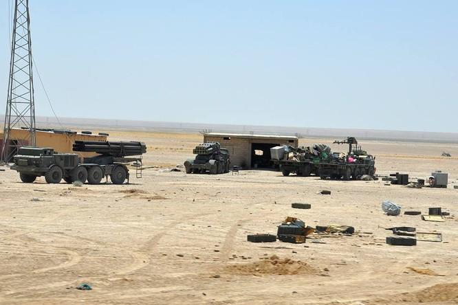 Pháo tự hành tung hoành trên chiến trường Syria ảnh 8