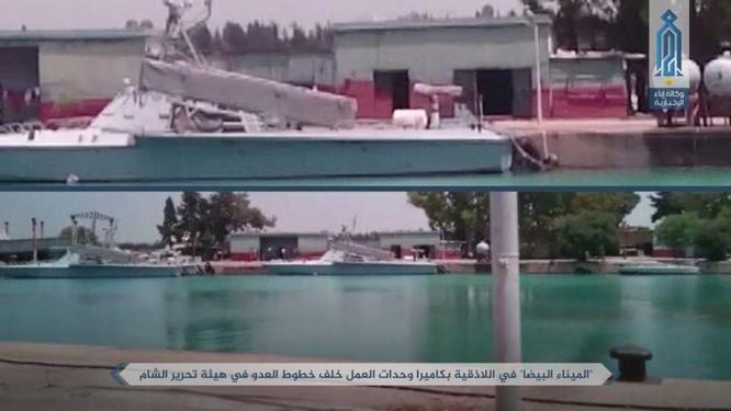 Phiến quân khoe tấn công căn cứ hải quân Syria ảnh 1