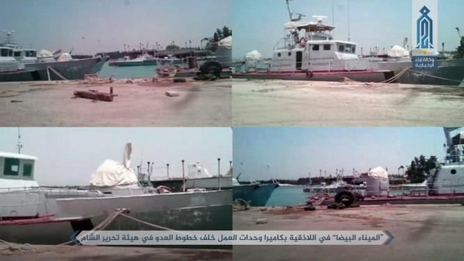 Phiến quân khoe tấn công căn cứ hải quân Syria ảnh 2