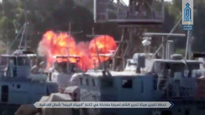 Phiến quân khoe tấn công căn cứ hải quân Syria ảnh 3