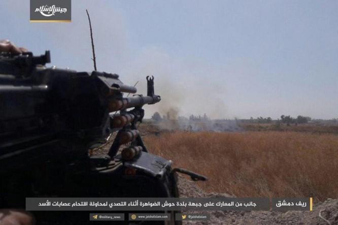 Quân đội Syria bất ngờ hứng thất bại trước phe thánh chiến ngoại ô Damascus ảnh 3