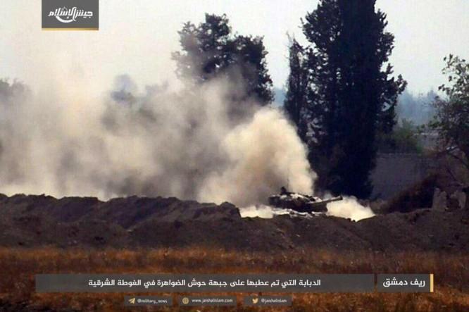 Quân đội Syria bất ngờ hứng thất bại trước phe thánh chiến ngoại ô Damascus ảnh 6