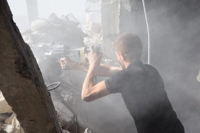 Quân đội Syria quyết thắng phe thánh chiến ngoại vi Damascus ảnh 1