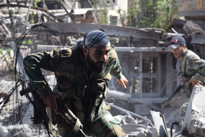 Quân đội Syria quyết thắng phe thánh chiến ngoại vi Damascus ảnh 2