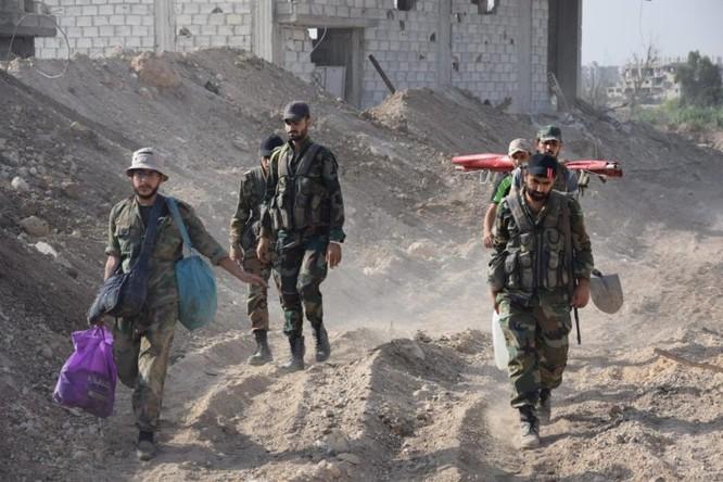 Quân đội Syria quyết thắng phe thánh chiến ngoại vi Damascus ảnh 3