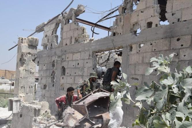 Quân đội Syria quyết thắng phe thánh chiến ngoại vi Damascus ảnh 5