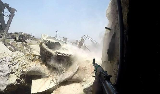 Quân đội Syria quyết thắng phe thánh chiến ngoại vi Damascus ảnh 6
