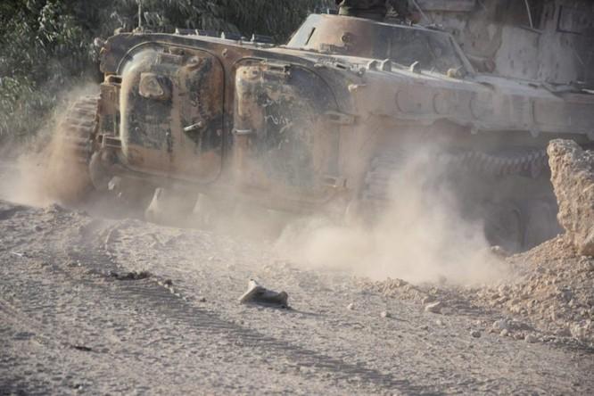 Quân đội Syria quyết thắng phe thánh chiến ngoại vi Damascus ảnh 13