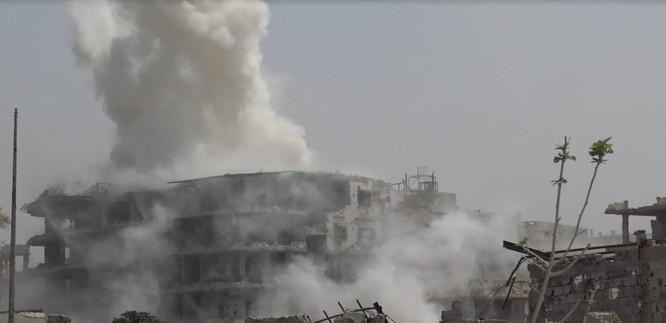 Quân đội Syria quyết thắng phe thánh chiến ngoại vi Damascus ảnh 16
