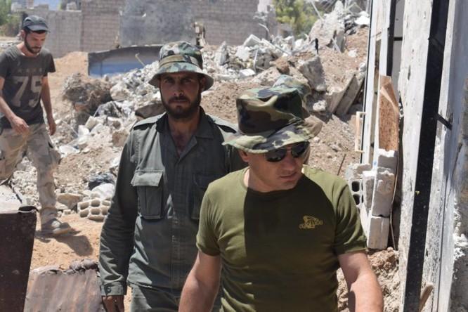 Quân đội Syria quyết thắng phe thánh chiến ngoại vi Damascus ảnh 21