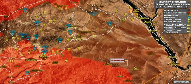"""""""Hổ Syria"""" đè bẹp IS, đánh chiếm hàng loạt địa bàn trọng yếu ở Raqqa ảnh 1"""