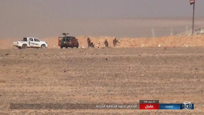 Quân đội Syria lại hứng thất bại đáng xấu hổ trước IS ảnh 1
