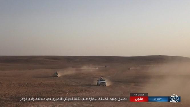 Quân đội Syria lại hứng thất bại đáng xấu hổ trước IS ảnh 3