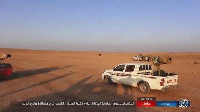 Quân đội Syria lại hứng thất bại đáng xấu hổ trước IS ảnh 4