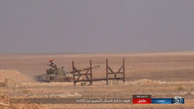 Quân đội Syria lại hứng thất bại đáng xấu hổ trước IS ảnh 11