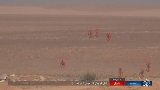 Quân đội Syria lại hứng thất bại đáng xấu hổ trước IS ảnh 15