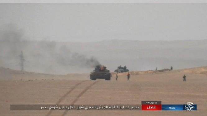 Quân đội Syria tung 3 mũi tiến công nhằm quét sạch IS tại Homs ảnh 1